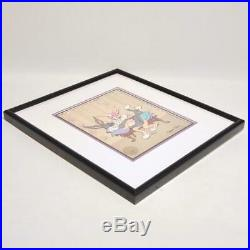 Chuck Jones Bugs Bunny & Mon Cherrie #486/500 Animation Cel, Signed & Framed