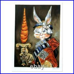 Chuck Jones Bunny Prince Charlie Hand Signed Limited