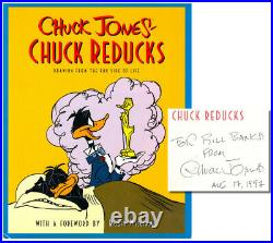 Chuck Jones / Chuck Reducks Drawing From the Fun Side of Life Signed 1st ed 1996