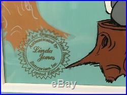 Chuck Jones Duck Season Wabbit Season! Signed And Numbered Cel 198/200