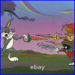 Chuck Jones Foiled Again Hand Signed, Hand Painted
