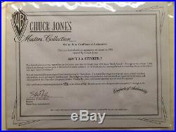 Chuck Jones Masters Collection 1993 Bugs Bunny Aint I A Stinker Signed Cell