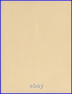 Chuck Jones. ORIGINAL LARGE SKETCH OF BUG BUNNY READING A BOOK. Signed! 1986