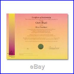 Chuck Jones SIGNED Acme Catalogue Hand Painted Limited Edition Sericel COA