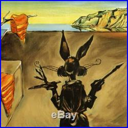 Chuck Jones SIGNED Persistence Of Carrots Limited Edition Stone Lithograph