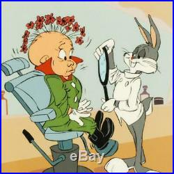Chuck Jones SIGNED Rabbit of Seville III Hand Painted Limited Edition Art