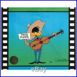 Chuck Jones SIGNED Sound Please Hand Painted Limited Edition Sericel COA