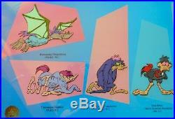 Chuck Jones Serigraph Evolution Of Daffy PRICE REDUCED! , Framed