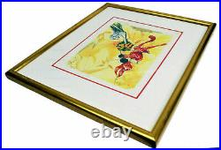 Chuck Jones Signed 14 Carrot Offering 91 Warner Bros Limited Ed. Lithograph
