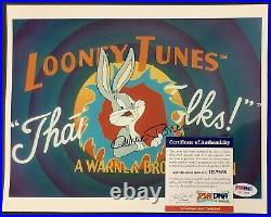 Chuck Jones Signed 8x10 Photo Cartoonist Auto Looney Tunes Bugs Bunny PSA/DNA