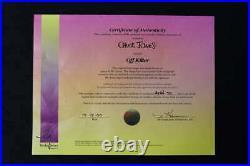 Chuck Jones Signed Animation Cell Off Kilter Framed Ap 24/50 Coa Pc1597