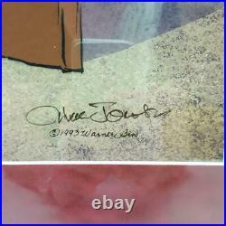 Chuck Jones Signed Bugs Bunny Gulli-Bull Warner Bros Artist Proof Animation Cel