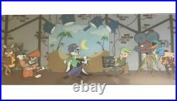 Chuck Jones Signed Hand Painted Cel Sound Stage Very Rare LE 40/750 withCOA