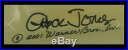 Chuck Jones Signed Road Runner Fast & Furry-Ous Cel Artist Proof #14 of 40