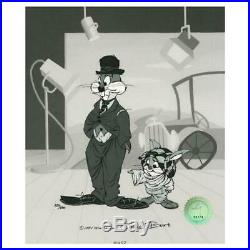 Chuck Jones The Kid Hand Signed, Hand Painted Limited