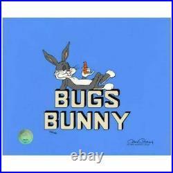 Chuck Jones Title Bugs Bunny Hand Signed, Hand