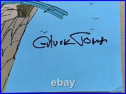 Chuck Jones Vintage 14thAnnual 1987 Telluride Film Fest Poster Signed 15x22 VG