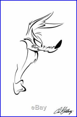 Chuck Jones gallery Wile E Coyote Eric Goldberg-signed Serigraph ed of 150
