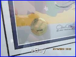 Chuck Jones signed Acme Harpoon Gun Road Runner #124/750. COA $289 7 days only