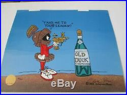 Chuck Jones signed Marvin Martian animation limited edition cel 200 made 55% off