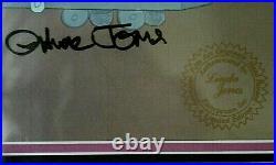 Chuck Jones signed Warner Bros. Daffy Call Me A Cab, Boy #160 of 750. Mint RARE