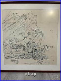 Chuck Jones signed orignal Oversized Telluride Film Festival Poster 1987