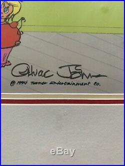 Chuck jones signed cel Dr Seuss Grinch 77/500
