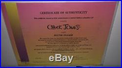 Daffy Duck Cel Warner Brothers Chuck Jones Signed Sound Please Last Artist Proof