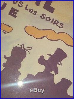 Daffy Duck Moulin Rouge La Goulue By Chuck Jones Personalized / Signed Ltd Litho