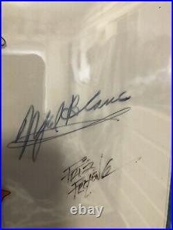 Daffy Duck Original Production Cel, Signed Chuck Jones, Mel Blanc, Friz Freelong