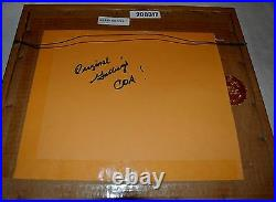 Daffy Duck Production Animation Cel Thanks For Giving Tv Special 1979 Signed/coa