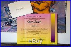 Double Hand Signed BUGS BUNNY, Chuck Jones, My Stars, COA, Giclee, Warner Bros