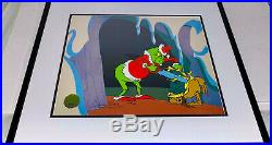 Dr Suess Cel Grinch Stole Christmas On Becoming A Reindeer Signed Chuck Jones