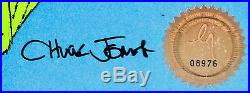 Dr Suess Grinch Stole Christmas Original Production Cel Signed Chuck Jones Cell