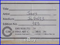 Duck Dodgers Chuck Jones SIGNED HAND-PAINTED Cartoon Cell -Marvin Martian