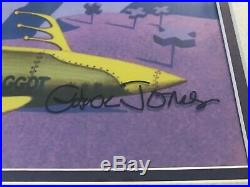 Duck Dodgers Creature From Another Planet Ltd Ed CEL Signed CHUCK JONES RARE
