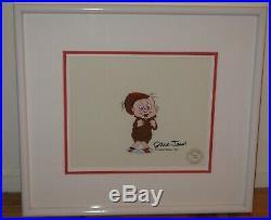 Elmer Fudd Framed Original Production Animation Cel Signed By Chuck Jones