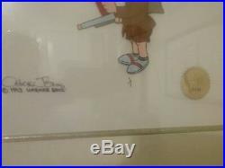 Elmer fudd signed Chuck Jones art One of a kind
