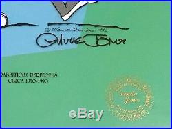 Evolution Of Bugs Bunny Hand Painted Signed Chuck Jones Animation Cel #/750 Jsa