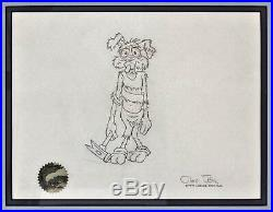 FREEZE FRAME 1979 Original Production Drawing WILE E COYOTE Signed Chuck Jones