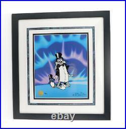 FRIGID HARE II Bugs Bunny Looney Tunes Chuck Jones Signed Limited Cel Art Cell