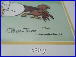 Foghorn leghorn Animation Cel Signed By Chuck Jones / Limited Ed. 294/300
