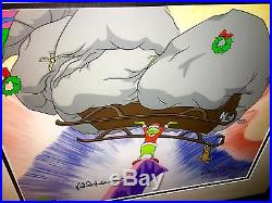 Grinch Animation Cel Strength Of Ten Grinches + 2 Chuck Jones Signed Dr Suess