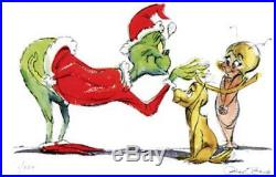 Grinch Change Of Heart Limited Edition Giclee Hand Signed By Chuck Jones