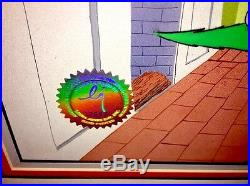 Grinch Stole Christmas Animation Cel Original Production Signed Chuck Jones Cell