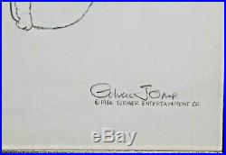 Grinch Stole Christmas Animation Cel Signed Chuck Jones Production Drawing