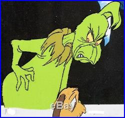 Grinch Stole Christmas Cel Original Animation Production Max Signed Chuck Jones