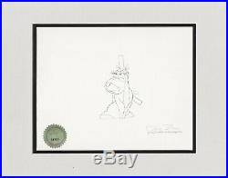 HOW THE GRINCH STOLE CHRISTMAS 1966 Chuck Jones Seuss signed Production Drawing