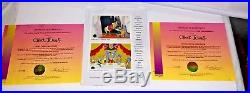 How The Grinch Stole Christmas 2 Cel Set Signed Chuck Jones Cell & Promo Cards