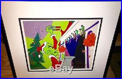How The Grinch Stole Christmas Cel YOU REALLY ARE A HEEL Signed Chuck Jones cell